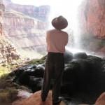 At Ribbon Falls