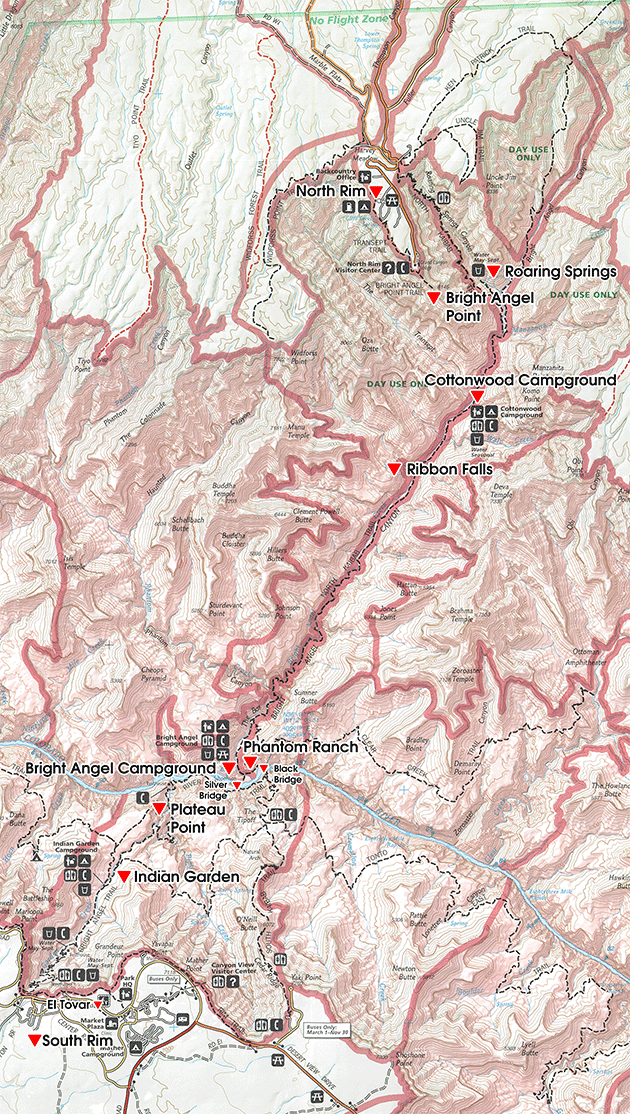 wwgc-grand-canyon-route-map